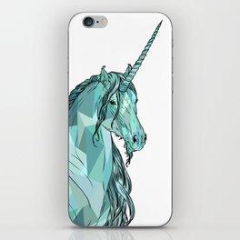 Unicorn prism iPhone Skin