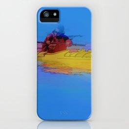 Touching Heaven    -   Kayaker iPhone Case