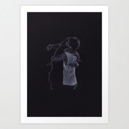 The Larry Hug Art Print
