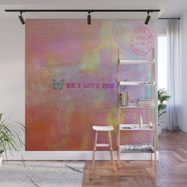 P.S. I Love You Wall Mural