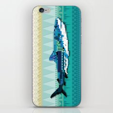 Paralleloshark iPhone & iPod Skin