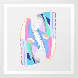 POP SNEAKERS Art Print