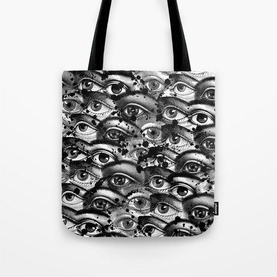 Watching You III Tote Bag