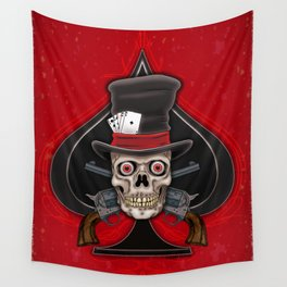 Dead Man's Hand Wall Tapestry