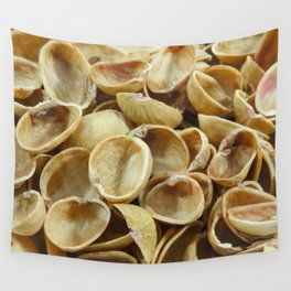 Pistachio shells Wall Tapestry