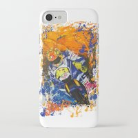 moto iPhone & iPod Cases featuring Moto Splash by Echo9Studio