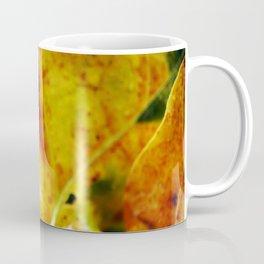 Autumn leaves print. Coffee Mug