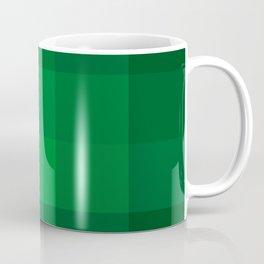 Green Checks Coffee Mug