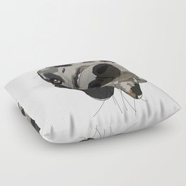 Great Dane dog in your face Floor Pillow
