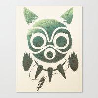 mononoke Canvas Prints featuring Mononoke by Kiana