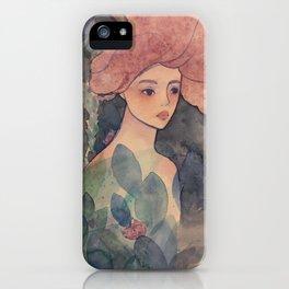 Chill Mermaid iPhone Case