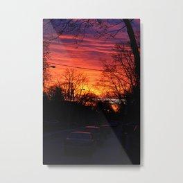 City sunrise Metal Print