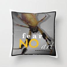 Orbweaver FEAR NO ART Throw Pillow