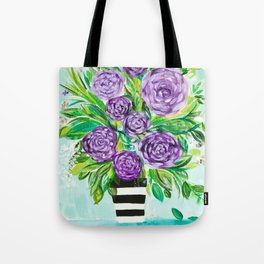 Purple Bouquet Delights Tote Bag
