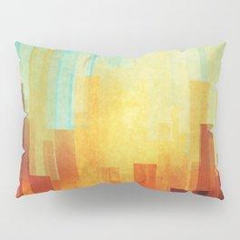 Urban sunset Pillow Sham