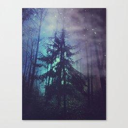 luminous forest Canvas Print
