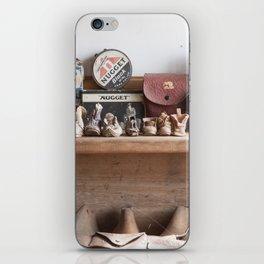 Old Shoe Shop iPhone Skin