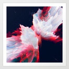Iakṓb (Abstract 14) Art Print