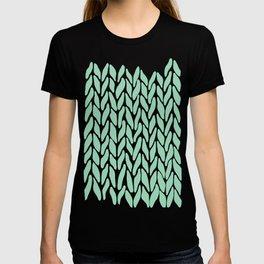 Hand Knitted Mint T-shirt
