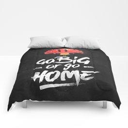 Go Big or Go Home Mario Inspired Smash Art Comforters