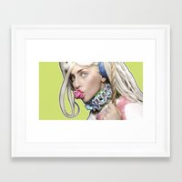 artrave Framed Art Prints featuring ArtRave by Marcelo BM