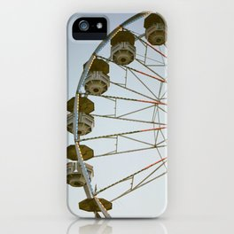 Ferris Wheel At The State Fair iPhone Case