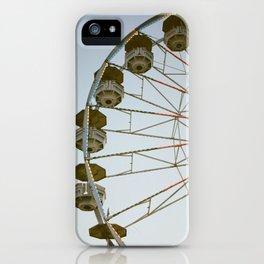 Ferris Wheel At The State Fair iPhone Case