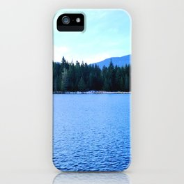 Bluest of blues iPhone Case