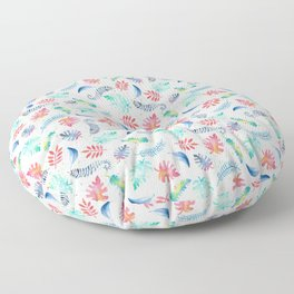 Aloha – Hawaii inspired pattern with a vintage feel Floor Pillow
