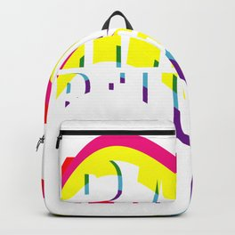 Rave Religion Glitch Backpack