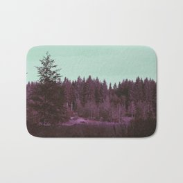 Purple forest Bath Mat