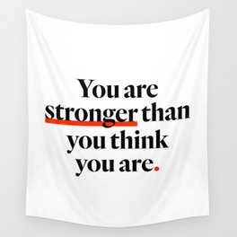 You Are Strong Wall Tapestry