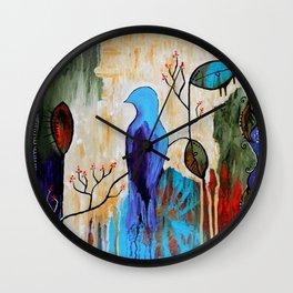 """Bohemian Garden"" Wall Clock"