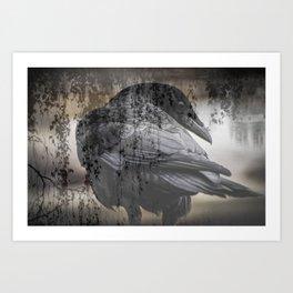 Cold Shoulder Art Print