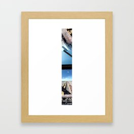 Laramie, WY (Panoramic) Framed Art Print