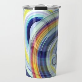 Swirl No. 1 Travel Mug