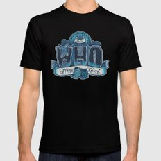 Infinite Who LARGE Black Mens Fitted Tee