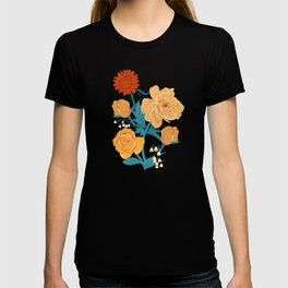 Paint by Number in Orange T-shirt