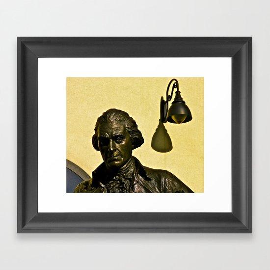 Jefferson's Idea Framed Art Print