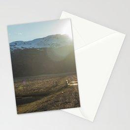 Iceland's Golden Circle Sunset Stationery Cards