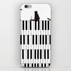 Piano Cat iPhone & iPod Skin