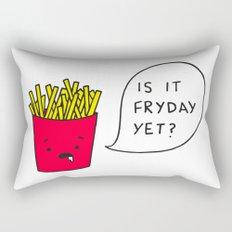 Is it Fryday yet? Rectangular Pillow