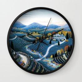 Hudson Valley by Kathy Jakobsen Wall Clock