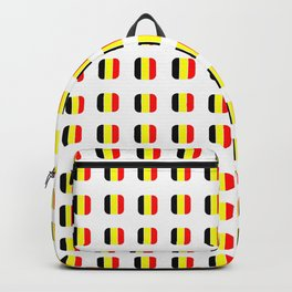 Flag of belgium with soft square Backpack