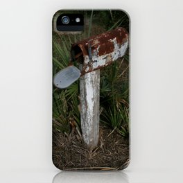 Rusty Mailbox DPG160301a iPhone Case