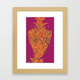 Raspberry Framed Art Print