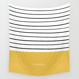 MARINERASYELLOW Wall Tapestry