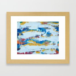 All of the colors Framed Art Print
