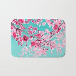 Cherry Blossom Aqua Bath Mat