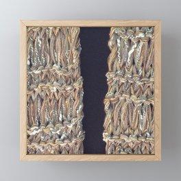 Knitter 4 Framed Mini Art Print